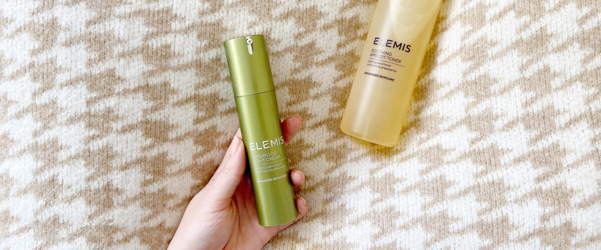 ELEMIS Soothing Apricot Toner and ELEMIS Superfood Night Cream Review
